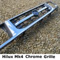 View Item Toyota Hilux Mk4 Front Grille - CHROME